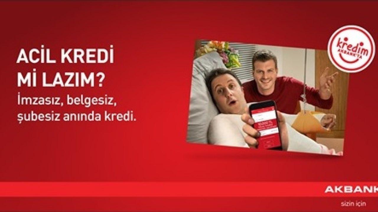 Akbank Şubesiz, Belgesiz Kredi
