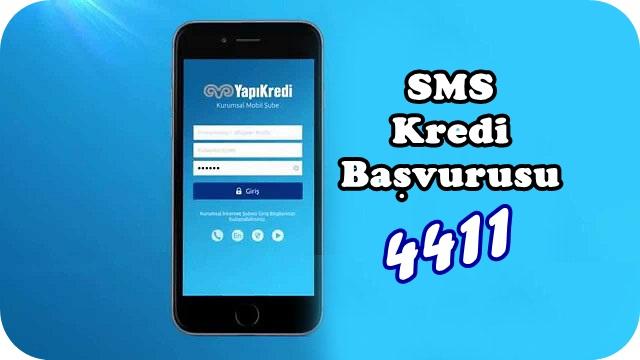 Yapıkredi 4411 SMS Kredi Başvurusu