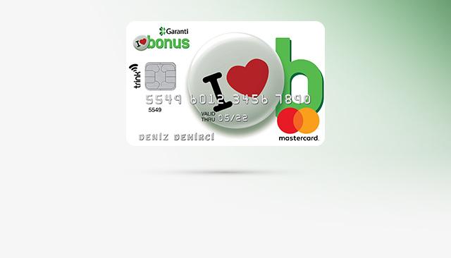 Garanti Bonus Kredi Kartı 30 Saniyede Sahip Olun!