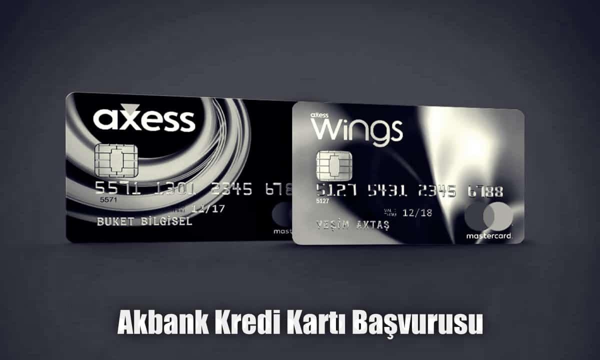 Akbank Anında Kredi Kartı Başvurusu