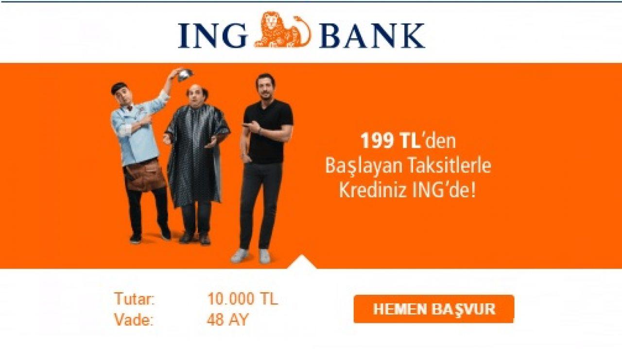 50.000 TL Borç Kapatma Kredisi ING'de %0,99'dan Başlayan Faiz Oranı